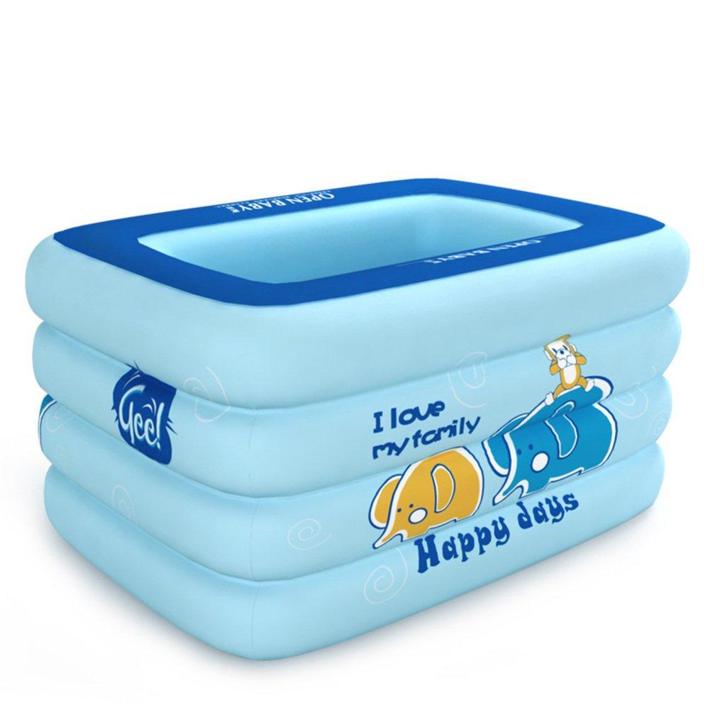Baby Schwimmbad/Aufblasbare Planschbecken/Babyschwimmen Fässer/Isolierung nach Hause Neugeborene Kinder Schwimmbad-D