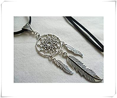 collier argent dreamcatcher