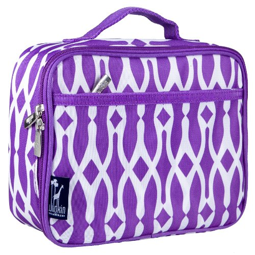 Box Bone Lunch (Lunch Box, Wildkin Lunch Box, Insulated, Moisture Resistant, and Easy to Clean with Helpful Extras for Quick and Simple Organization, Ages 3+, Perfect for Kids or On-The-Go Parents – Wishbone)