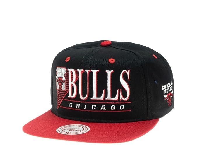 Mitchell & Ness Gorras Chicago Bulls Horizon Black/Red Snapback