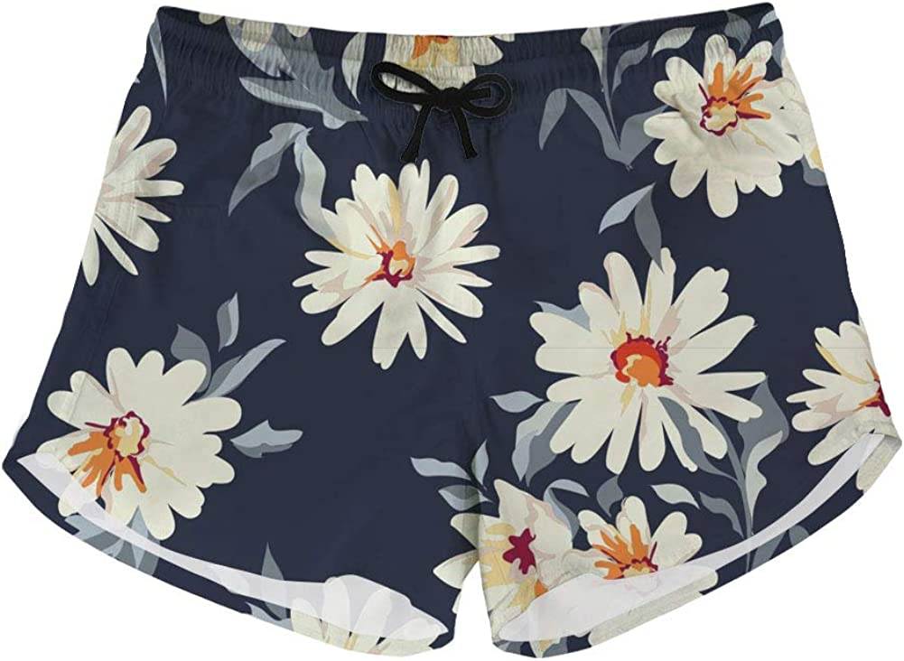 BIGCARJOB Summer Drawstring Shorts Relaxed Beach Pants Women Loose Fit Workout Breechcloth