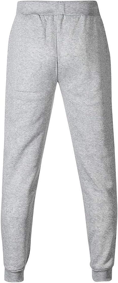 Pantalones de Sudadera de Bolsillo de otoño Invierno para Hombre ...