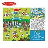 Melissa & Doug Color Your Own Sticker Pad Animals Sticker Pad