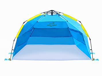 Summer Breeze Easy Pop Up Beach Tent - Large  sc 1 st  Amazon.com & Amazon.com : Summer Breeze Easy Pop Up Beach Tent - Large : Sports ...