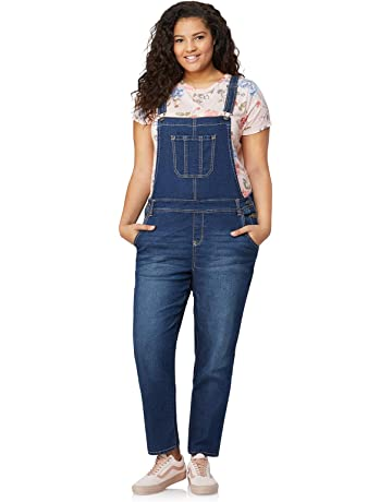 589a41f1c5c Billabong Women s Wild Lengths Pant. WallFlower Plus Size Stretch Denim  Overalls