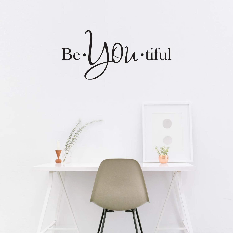 Vinyl Wall Art Decal - Be You Tiful - 22.5