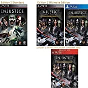 Amazon com: Injustice: Gods Among Us - PS3 (Ultimate Edition