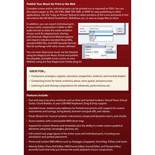 MagicScore Maestro v8.0 - Image 3