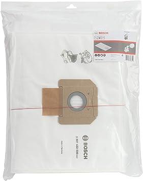 Bosch Professional Bolsas de vellón para aspiradora, para GAS 55, en bolsa de plástico, Set de 5 Piezas: Amazon.es: Bricolaje y herramientas