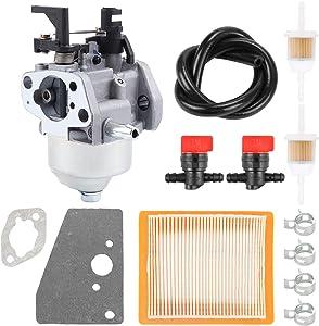 14 853 68-S 14 853 55-S Carburetor for Kohler XT650 XT675 XT6.5 XT6.75 Lawn Boy Toro MTD Auto Choke Carb Lawn Mower with 14 083 15-S Air Filter Fuel Line