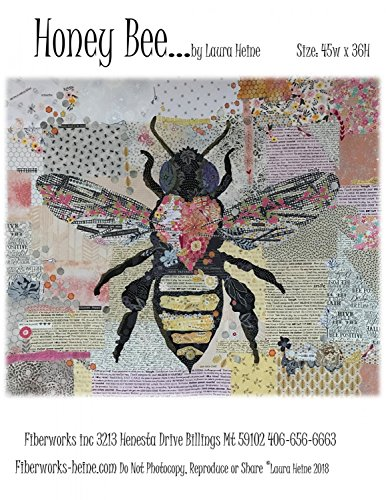 Honey Bee Collage Pattern by Laura Heine from Fiberworks 45