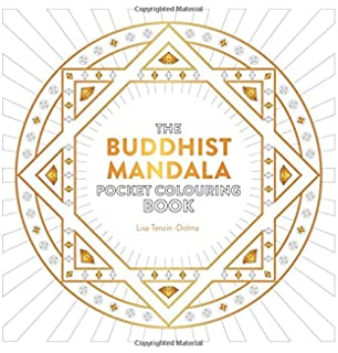 Buddhist Mandala Pocket Colouring Book Books