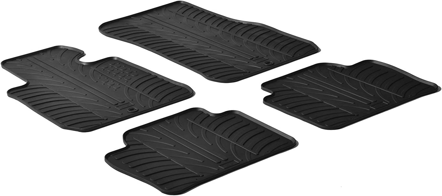 BMW 3 SERIES F30//F31 2012+TAILORED CAR MATS BLACK CARPET WITH RED TRIM