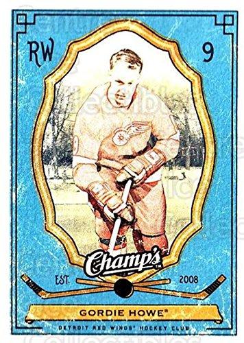 (CI) Gordie Howe Hockey Card 2009-10 Upper Deck Champs (base) 40 Gordie ()