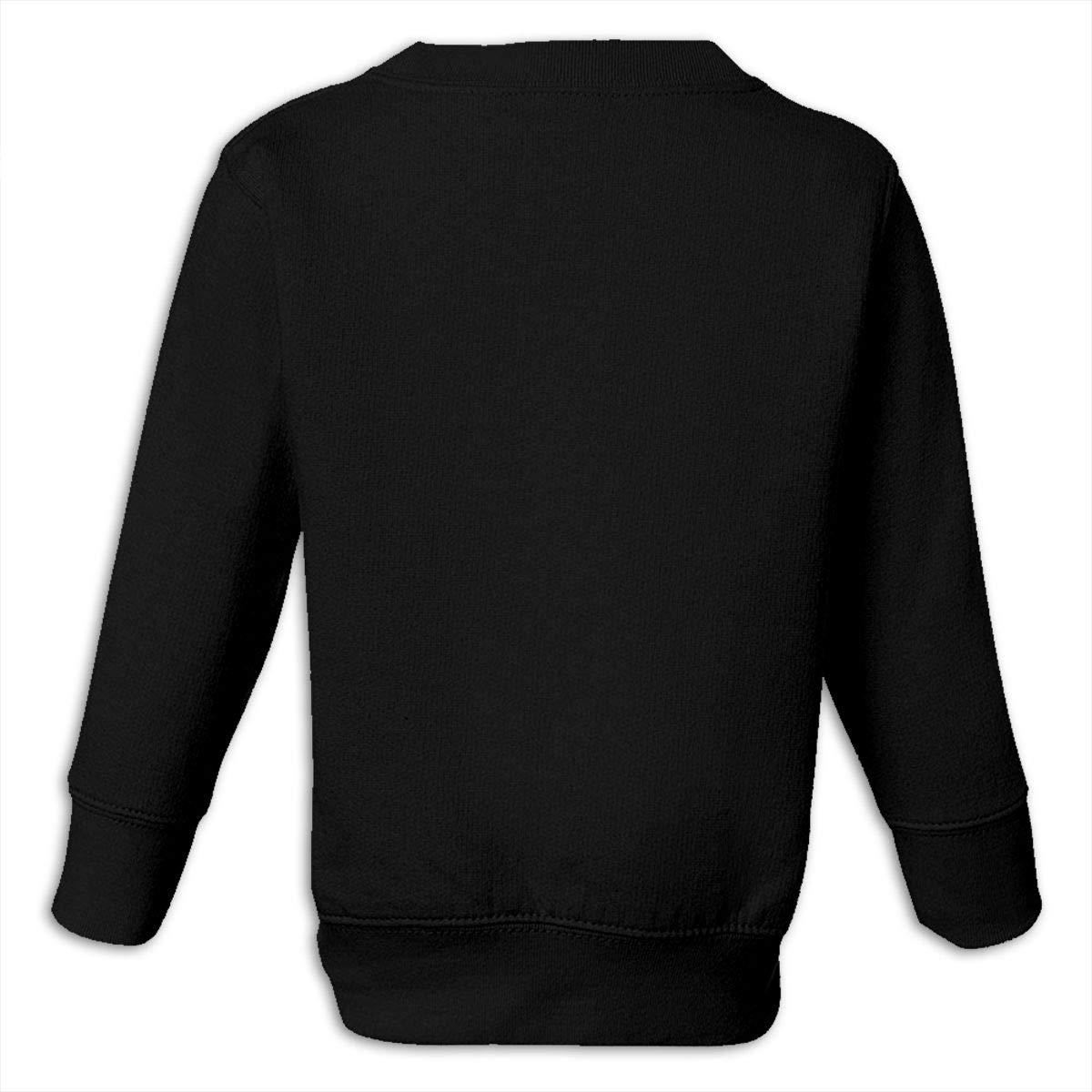 GHYNJUM Fish Bone Juvenile Unisex Cotton Long Sleeve Round Neck Sweatshirt