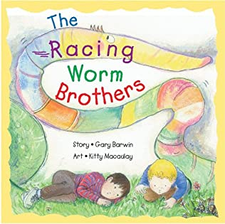 book cover of The Racing Worm Brothers