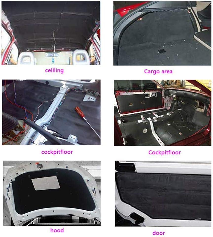 BESPORTBLE Voiture Isolation Mousse Voiture Insonorisant Mat/ériel 10Mm D/épaisseur 200X100 Cm Insonorisant Isolation Voiture Auto Automobile Accessoires Automobiles
