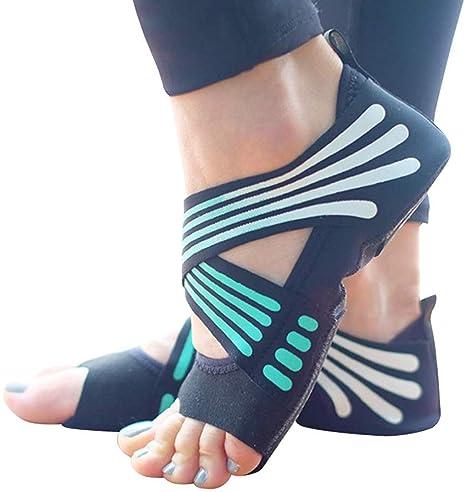 NAMENLOS 2pcs Calcetines Yoga Calzado para Mujeres ...