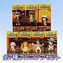 Piece World Collectable figures -ONE PIECE FILM GOLD-vol.4 all seven set