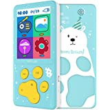 Kids MP3 Player with Loudspeaker Birthday Gift 8 GB MP3 Player for Children, Games FM Radio Voice Recording E book
