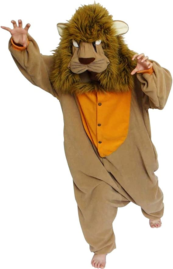 Lion Costume - Kigurumi Onesie (disfraz): Amazon.es: Juguetes y juegos