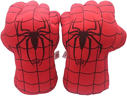 1 Par Niños Boxeo Guantes Spiderman Juguetes Súper Héroe Araña Man ...
