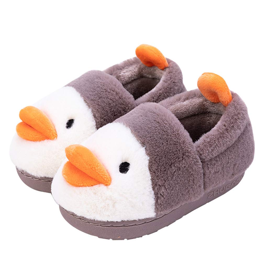 Baby Toddler Boys Girls Winter Warm Cotton Shoes House Shoes 1-11 Years Old Children Fashion Walking Slippers