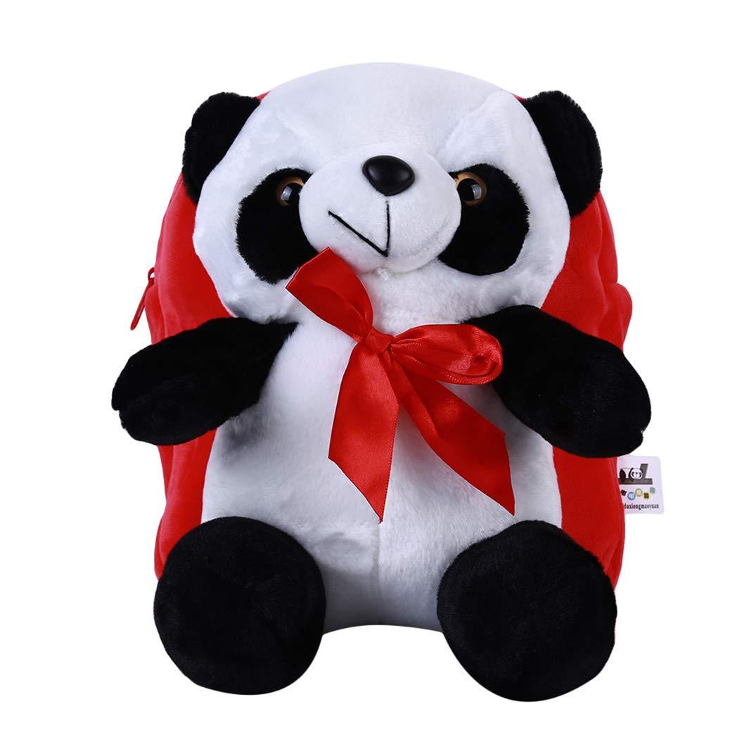 Petite Peluche SHIJIAN Sac /à Dos en Peluche pour Enfant Motif Animal de Dessin anim/é Mignon Panda Sac /à Dos Mini Sac /à Dos d/école Sac /à bandouli/ère pour Fille gar/çon Cadeau de P/âques Rose