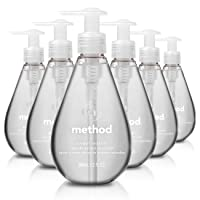 Deals on 6-Pack Method Gel Hand Soap Sweet Water 12 Ounce
