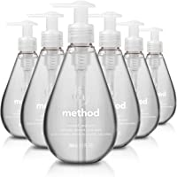 6-Pack Method Gel Hand Soap, Sweet Water, 12 Ounce