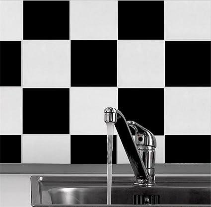 White Tile Bathroom Wallpaper