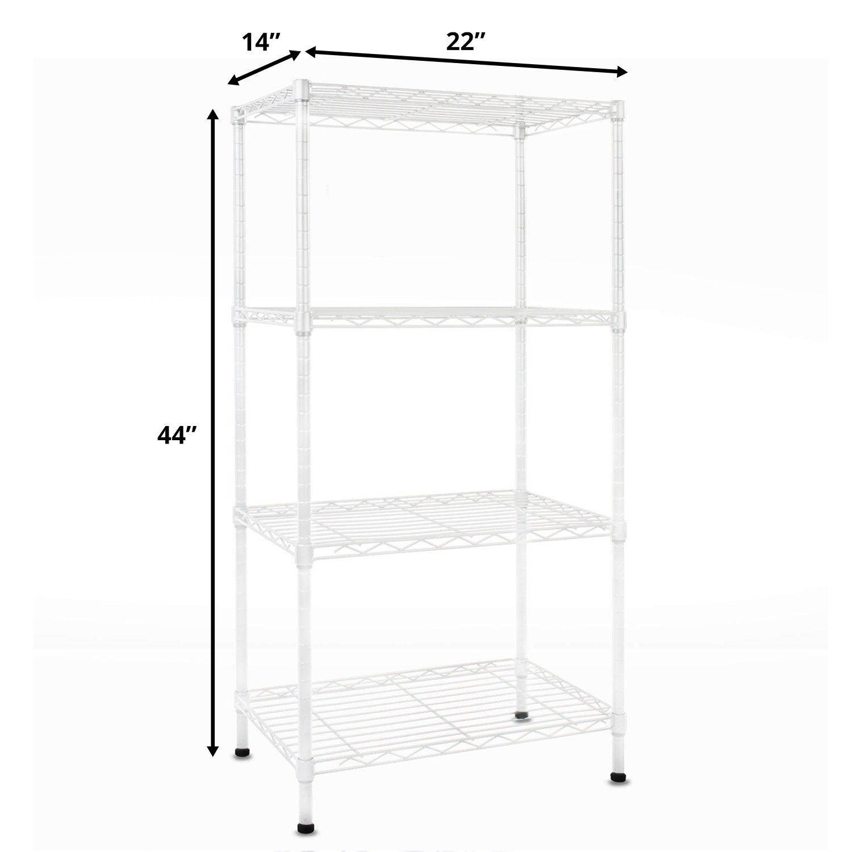 Amazon.com: casa pura Metal Storage Shelves   Wire Shelving ...