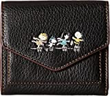COACH Women's Box Program Snoopy Small Wallet Qb/Black One Size