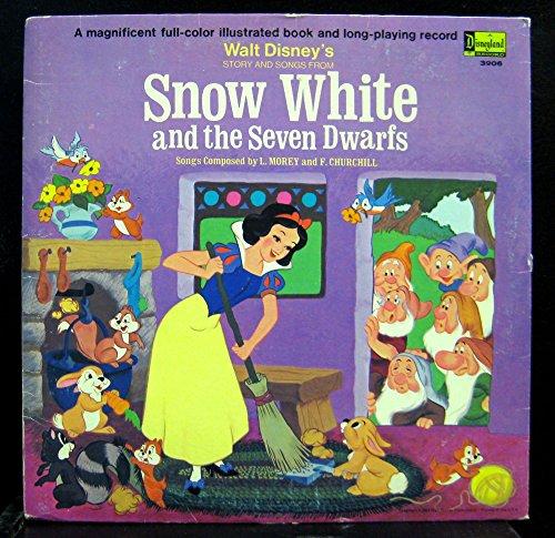 DISNEY SNOW WHITE & THE SEVEN DWARFS vinyl record