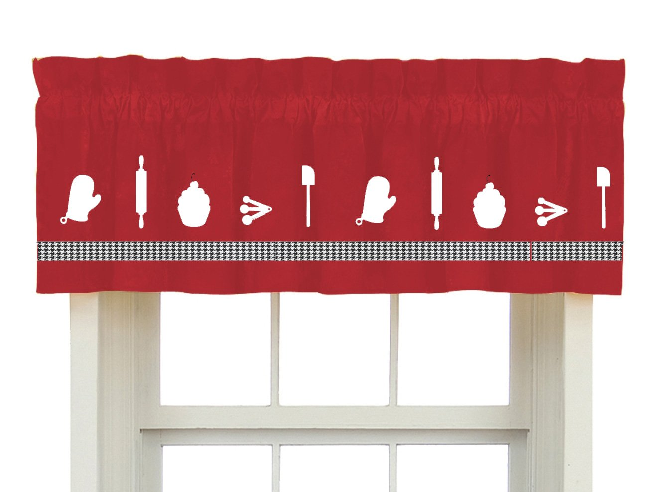 Custom Made Treatment In Your Choice of Colors Canoe Oars Window Valance