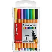 Fineliner - Stabilo point 88 Mini 8er Pack