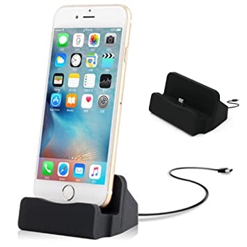 cb4f24418e iPhone7 / iphone 7 plus 卓上ホルダー 【MaxKu 】 充電クレードル 同期 スタンド iPhone6/