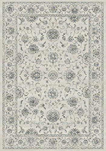 (Dynamic Rugs Ancient Garden 7.10 RD 57126-6666 Cream/Grey )