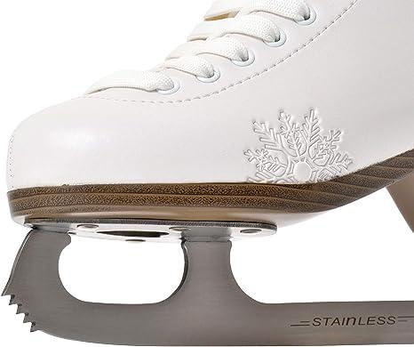HEAD Donna Women/'s Ice Figure Skates White 41 EU 7 UK Free Guards Included