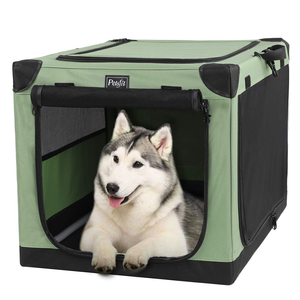 Petsfit 36 Inch Portable Dog Crate for Outdoor and Travel Use by Petsfit