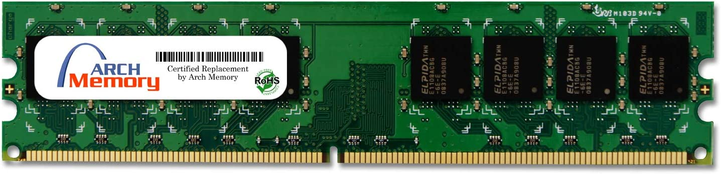 Arch Memory 2 GB 240-Pin DDR2 UDIMM RAM for HP Pavilion Elite m9500f