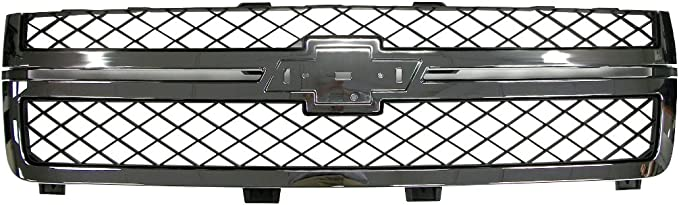 Genuine GM 20966058 Grille Chrome Front