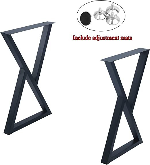 Patas para muebles de 28 pulgadas de altura, doble triángulo ...