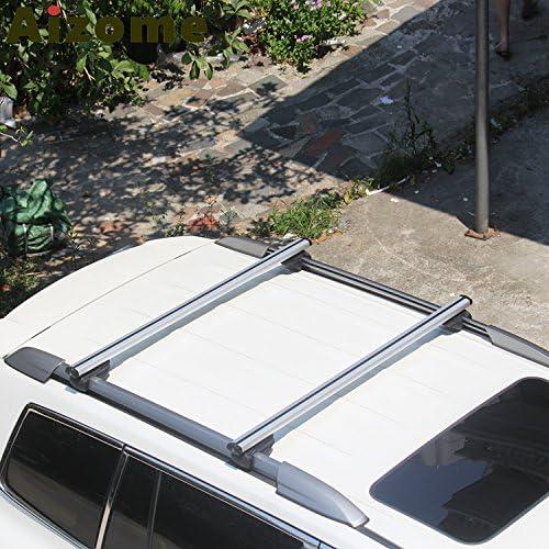 BARRE PORTAPACCHI PORTATUTTO AUTO CHEVROLET SPARK 10 /> 120 CM SERRATURA ANTIFURT