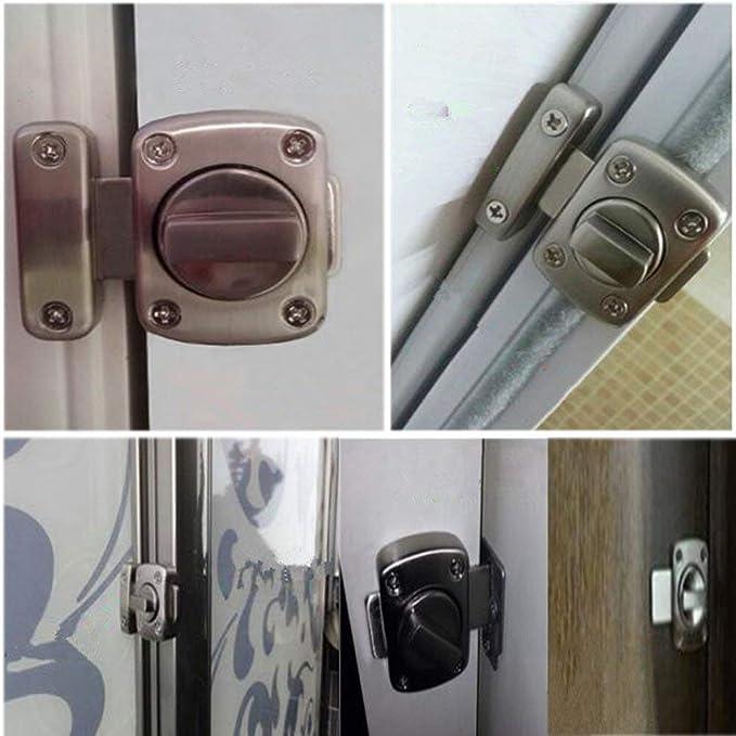 Pestillo LMYTech Cerradura de Puerta Perno de Puerta Cerrojo de ...