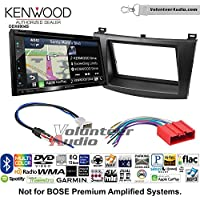 Volunteer Audio Kenwood Excelon DNX694S Double Din Radio Install Kit with GPS Navigation System Android Auto Apple CarPlay Fits 2010-2013 Mazda 3