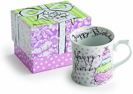 Amazon.com: Rosanna – feliz cumpleaños taza: Kitchen & Dining