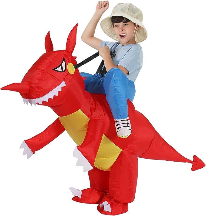 Amazon.com: TOLOCO - Disfraz de dinosaurio y unicornio ...