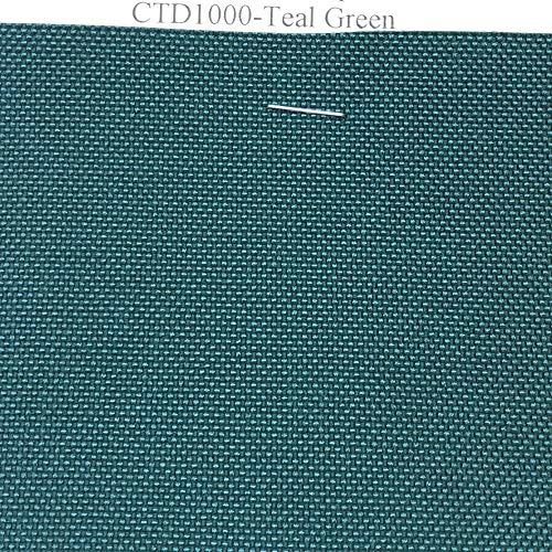 1 Yard of 58-60 Inch Wide 1000 Denier Polyurethane Coated CORDURA Nylon Fabric - Teal