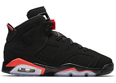 c931a4aa690252 Nike Air Jordan Retro 6 quot Infrared Black Infrared (GS) (4 M